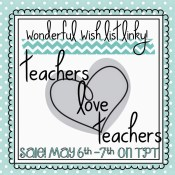 TpT LOVES Teachers Sale and a Fun Linky