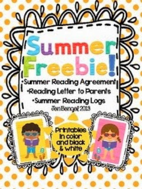 http://www.teacherspayteachers.com/Product/Summer-Freebie-Printable-Resources-to-Encourage-Students-to-Read-this-Summer-696218