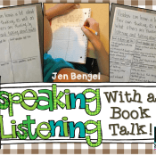 Speaking & Listening Skills With a Book Talk