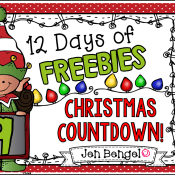 12 Days of Freebies: Day 9 AND Half Off!