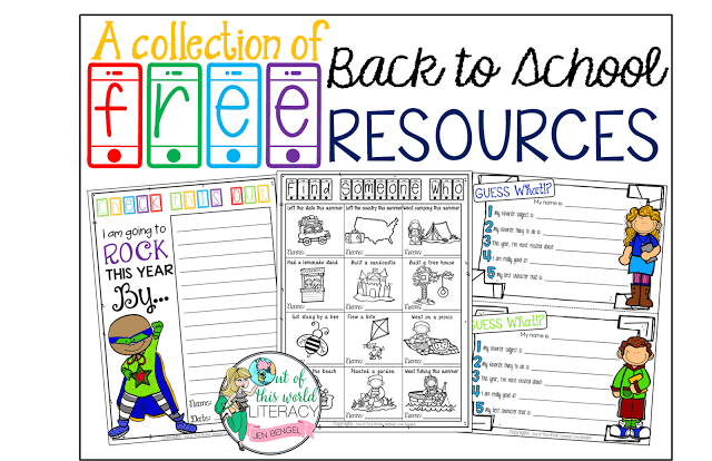 Back to School FREE Resources!!