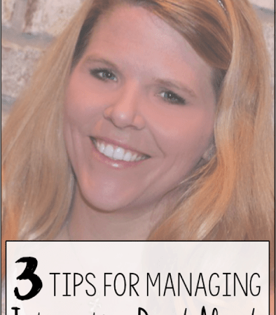 Day Three: 3 Tips to Managing Interactive Read Alouds