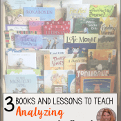 3 Books and Lessons to Teach Analyzing