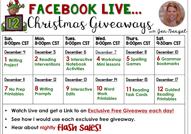 12 Days of Christmas Giveaways: Day Six