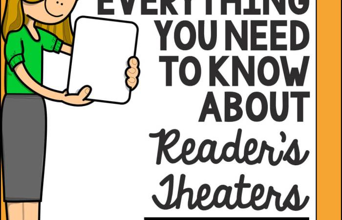 Everything You Need to Know About Reader's Theaters