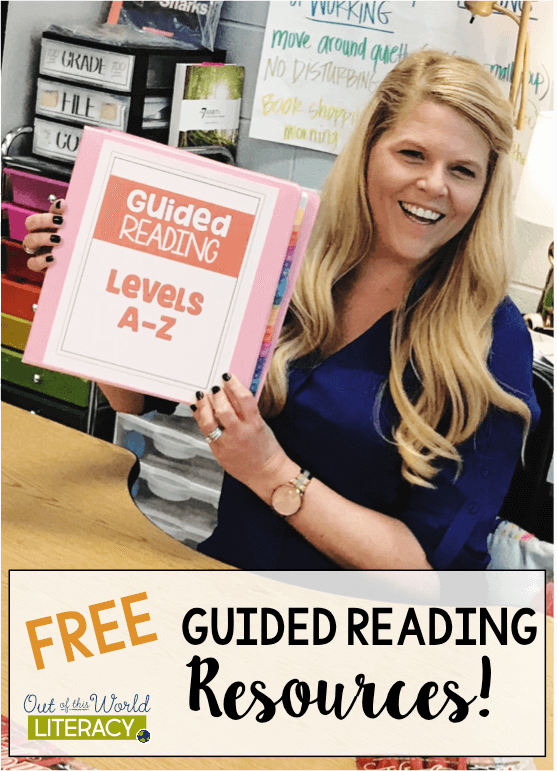 Free Guided Reading Resources - Out of this Word Literacy