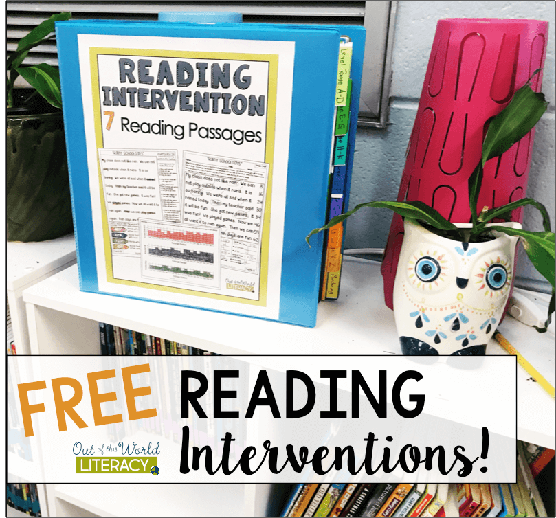 Try The Reading Intervention Program for Free! - Out of this Word