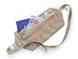 Cinto de dinheiro - Dicas para Viajar ou Mochilar com Segurança