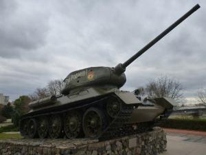 Soviet Tank in Transnistria