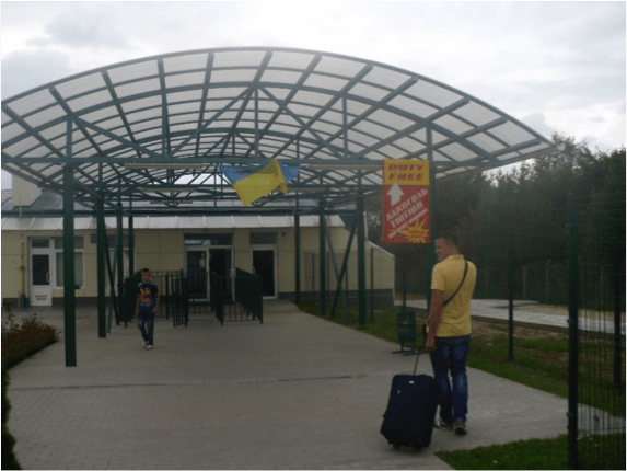 Ukraine / Poland Border