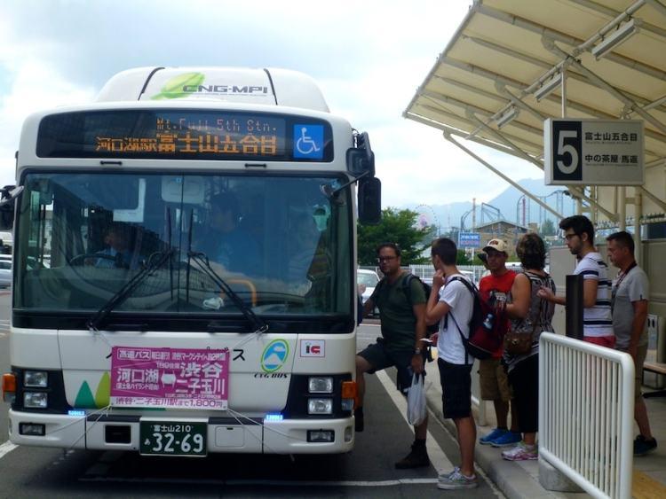 ônibus Monte Fuji