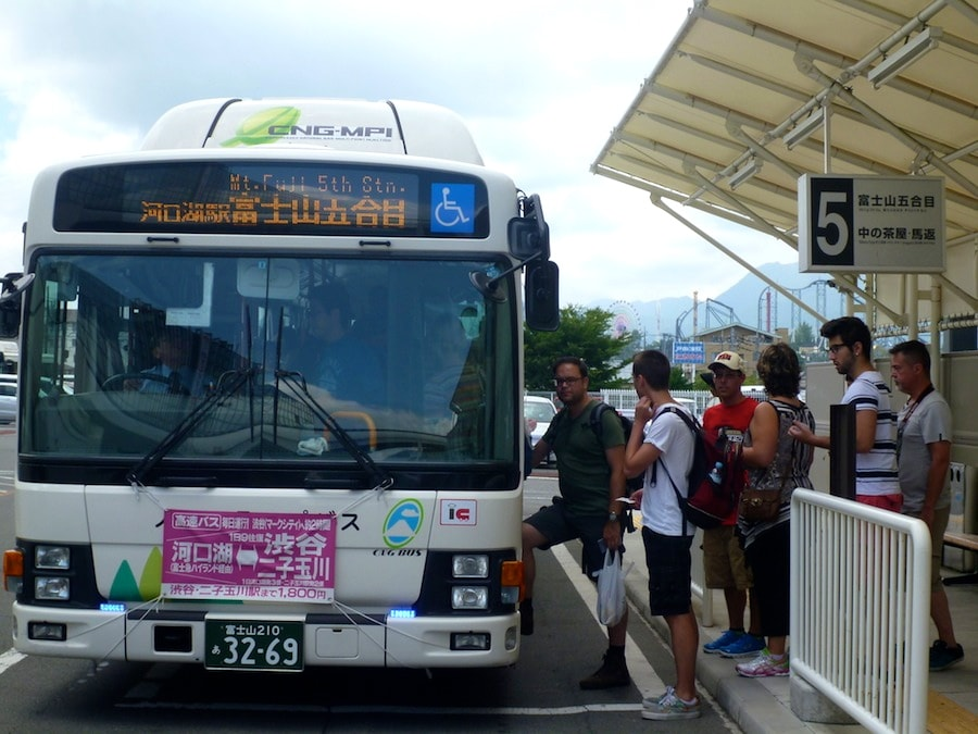Bus to the 5th Station