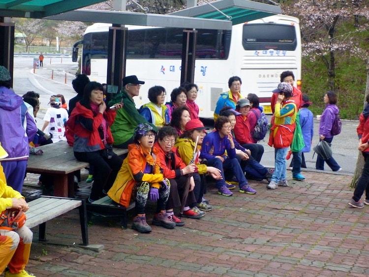 Korean Hiking Clothes