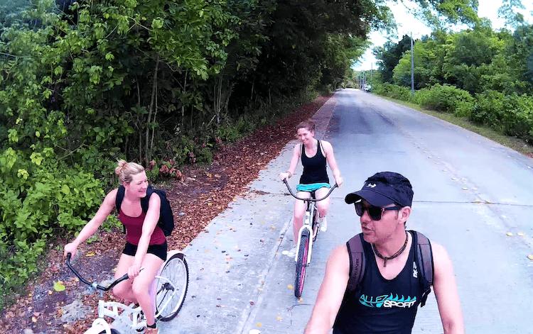 Bicicleta em Peleliu Palau