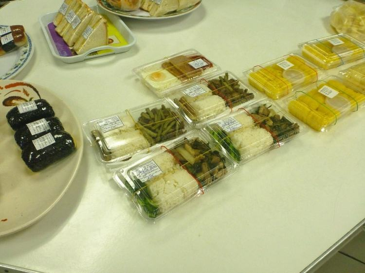 Bento Boxes in Koror, Palau
