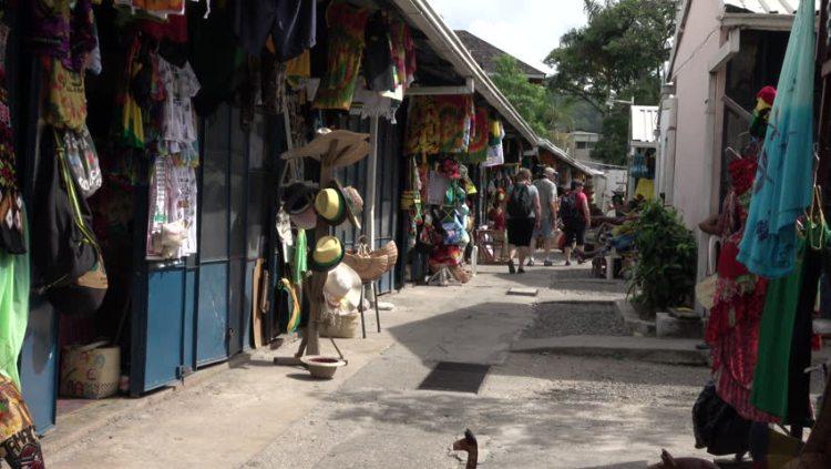 Mercado na Jamaica