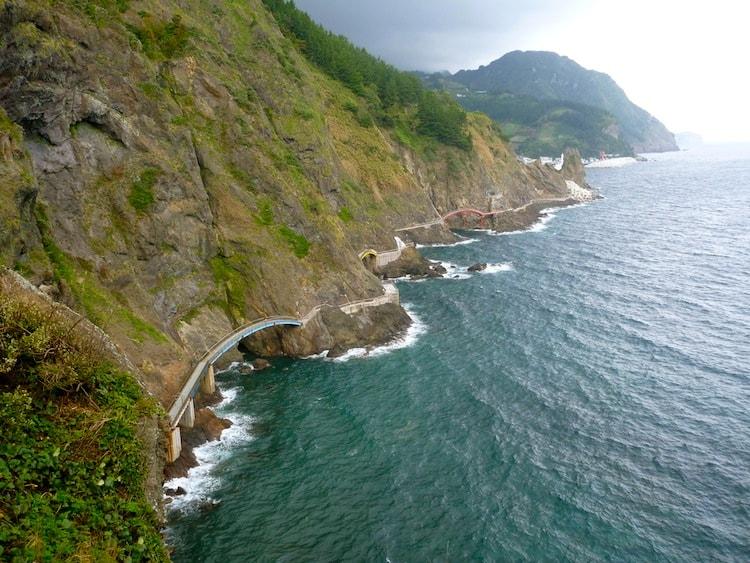 Ilha de Ulleungdo na Coreia do Sul