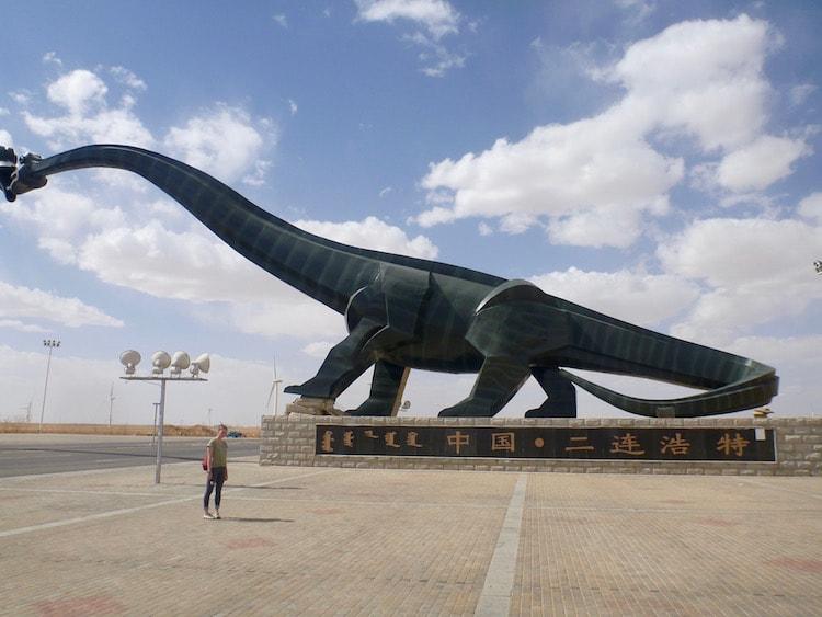 Dinossauros beijando Erlian Erenhotl
