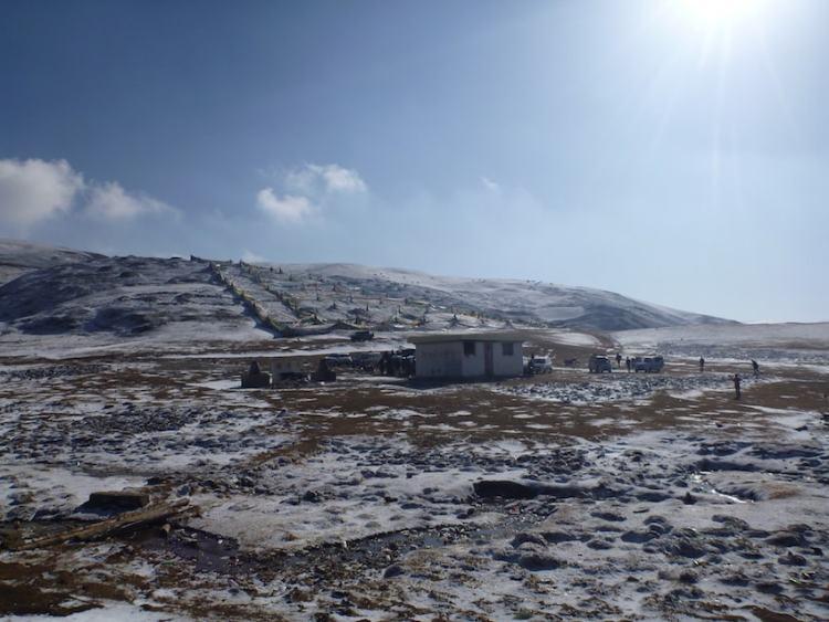 Litang Sky Burial Tibet China