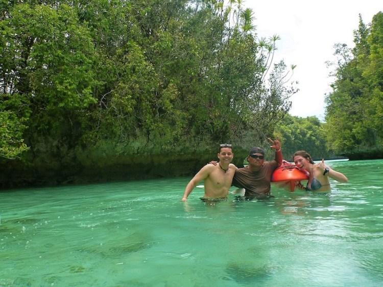 Kayaking na Rock Island Palau