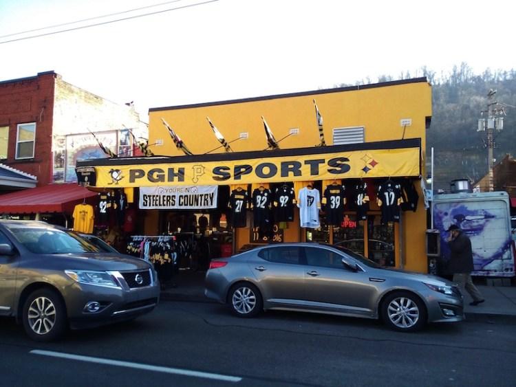 Loja Steelers Pittsburgh
