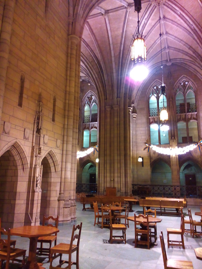 Inside the Cathedral of Learning Pittsburgh