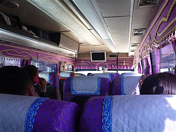 ônibus na Mongólia