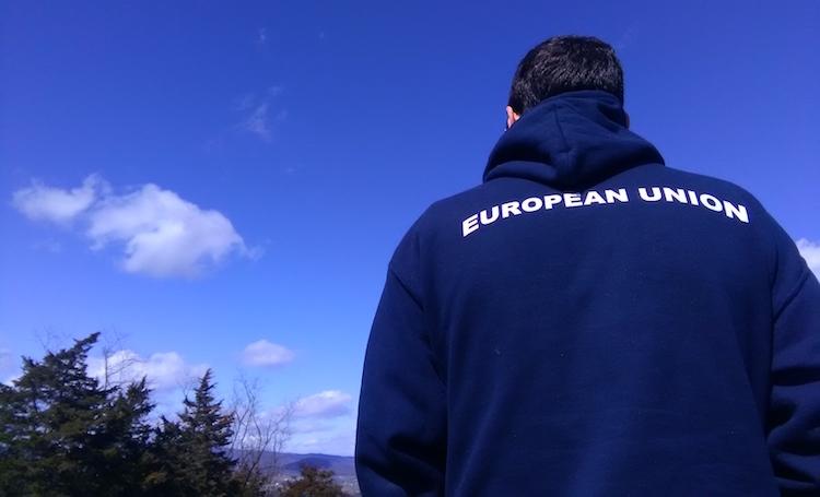 European Union Hoodie Proud