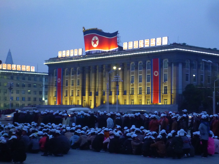 Central Square Pyongyang North Korea