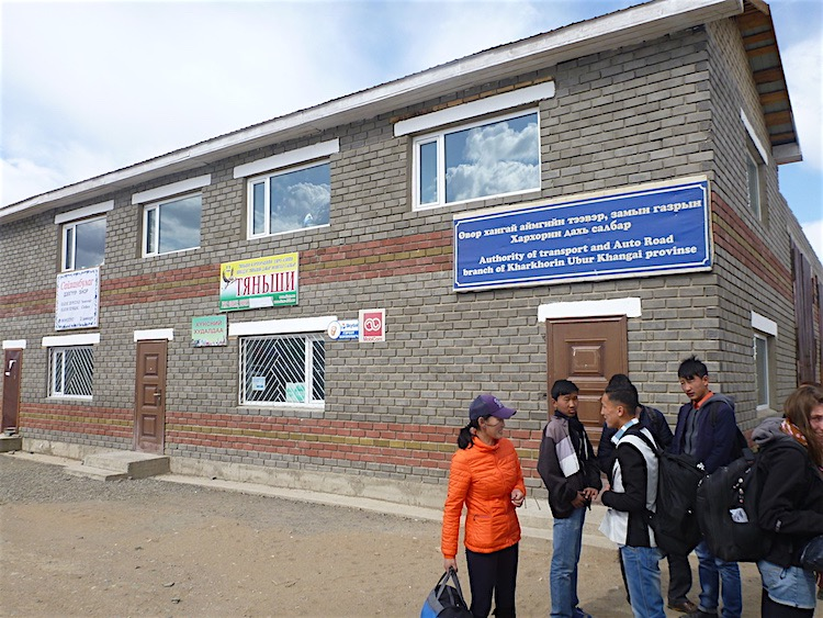 Karakorum Bus station