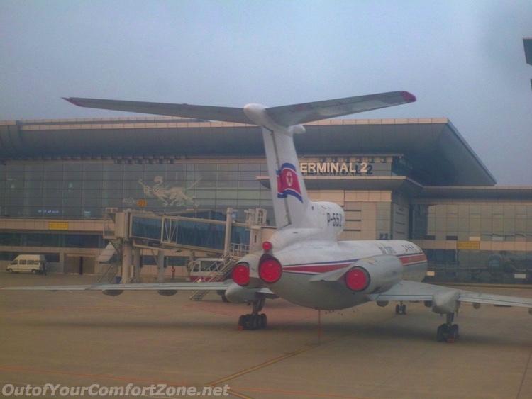 North Korea Air Koryo Plane
