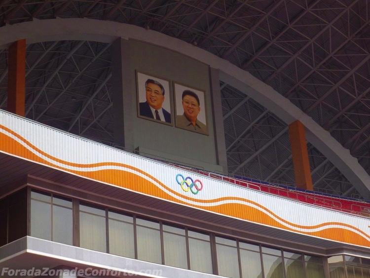 Fotos Kim Estadio Coreia do Norte