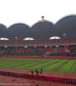 Interior of may day stadium Pyongyang North Korea