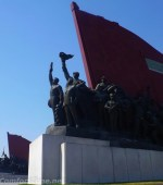 Pyongyang North Korea Anti-Japenses Revolutionary Struggle and the Socialist Revolution monuments