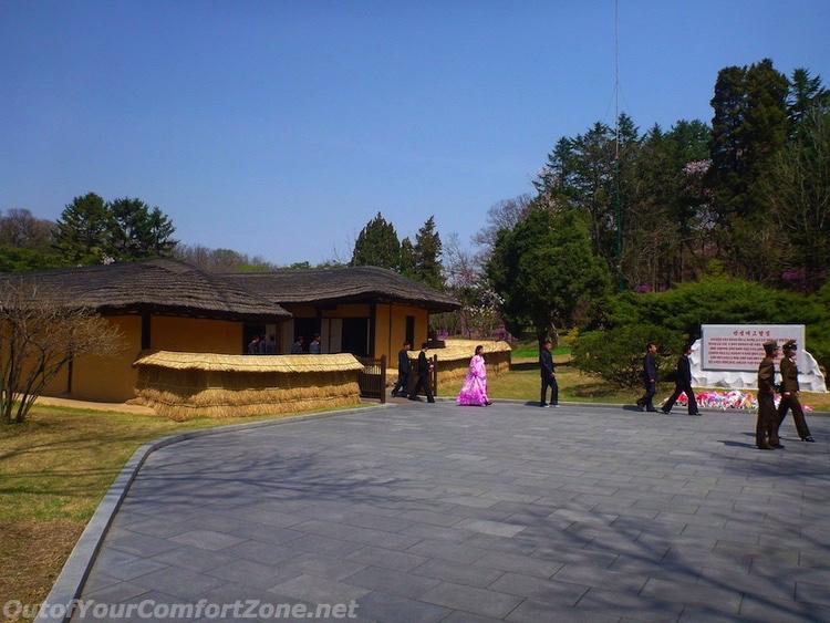 Kim il-Sung's birthplace house Pyongyang