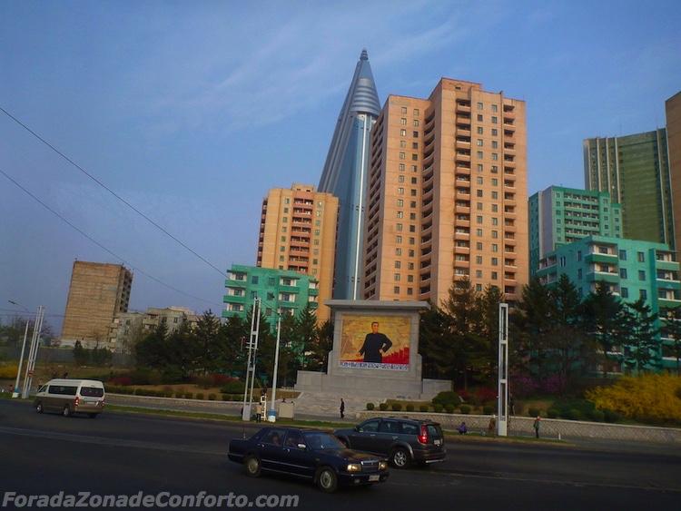 Hotel abandonado Ryugyong Pyongyang Coreia do Norte