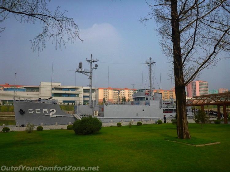 captured spy ship USS Pueblo Pyongyang North Korea