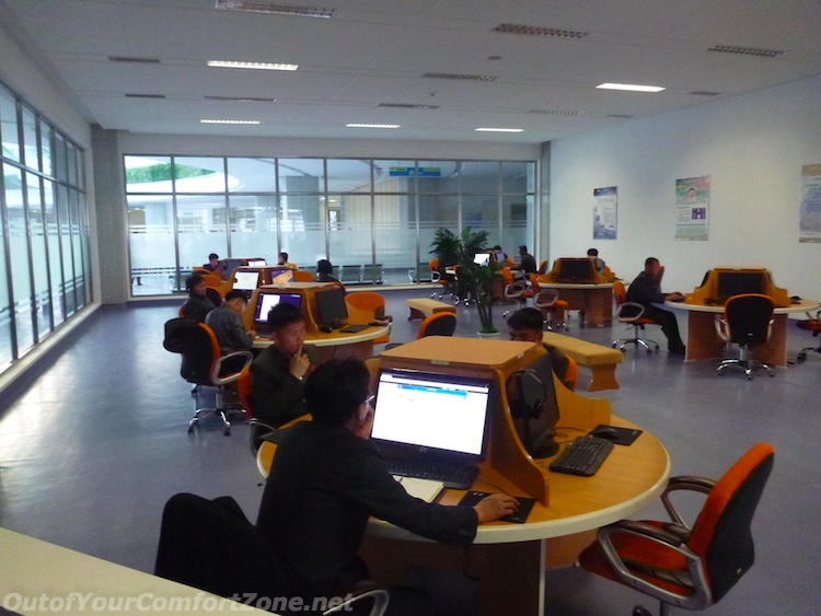 Computers within the sci-tech center