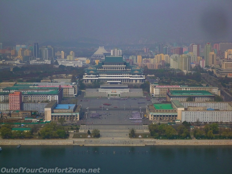Kim il-Sung Square Pyongyang North Korea Juche Tower