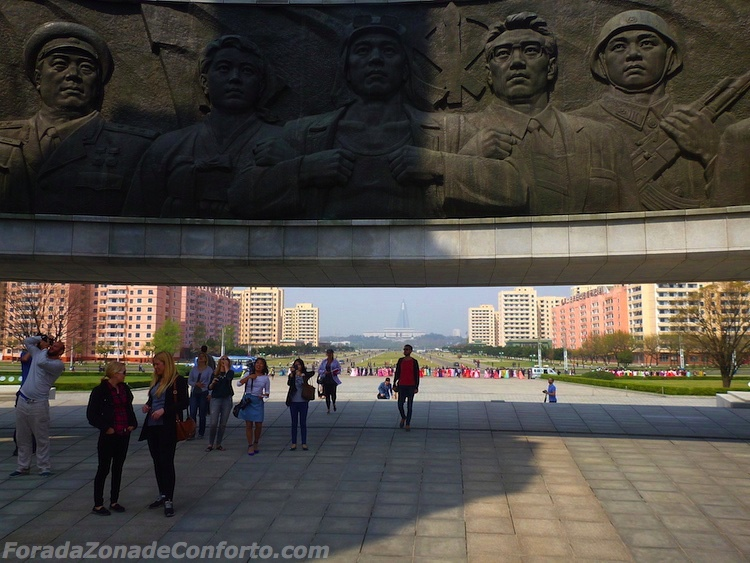 Monumento ao Partido do Trabalhador Coreia do Norte