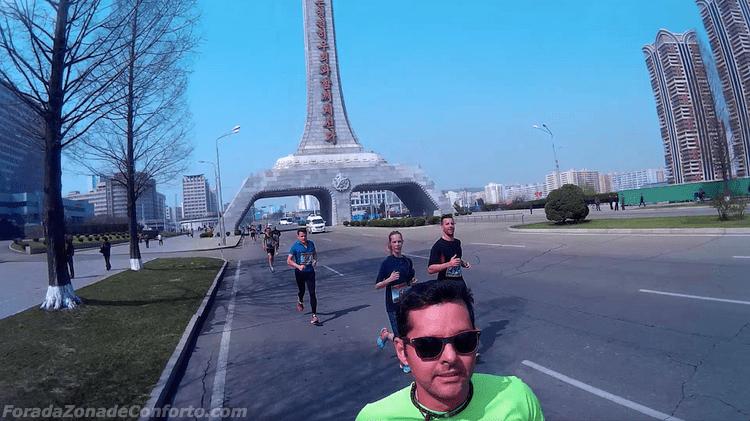 Monumentos Maratona Coreia do Norte