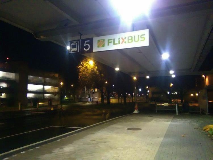 Parada Flixbus Aeroporto Gotemburgo