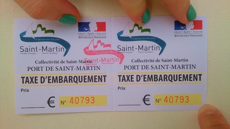 Port tax in Saint Martin