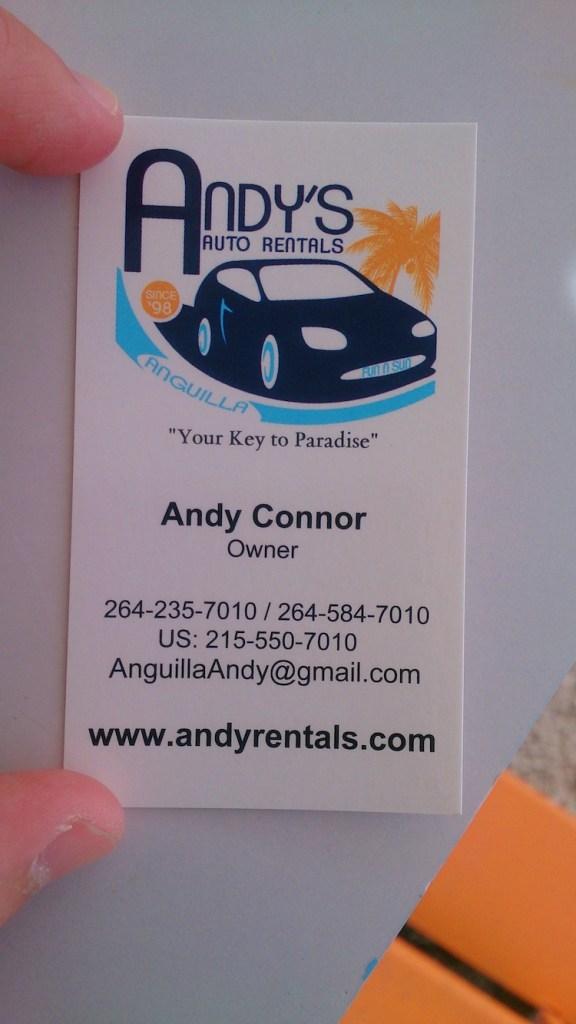 Car rental in Anguilla