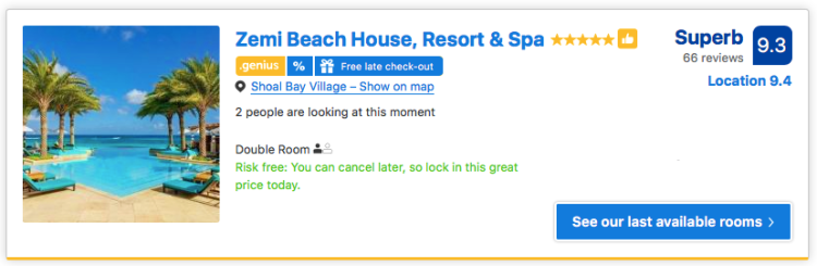 Best hotel in Anguilla