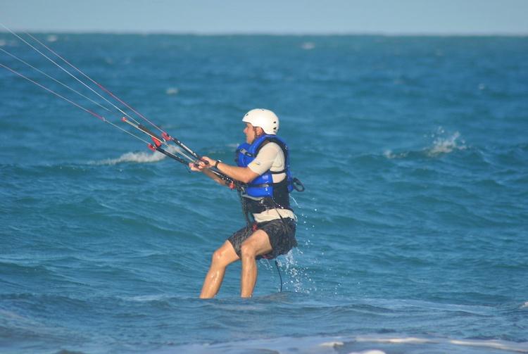 Learning Kitesurfing Cabarete 1