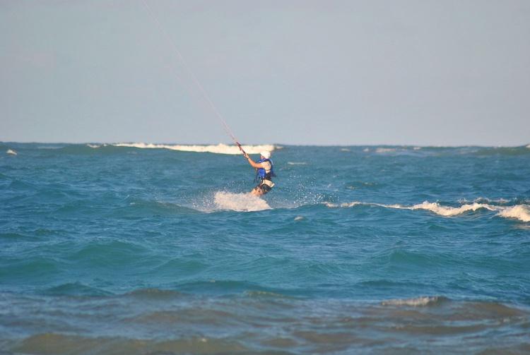 Learning Kitesurfing Cabarete