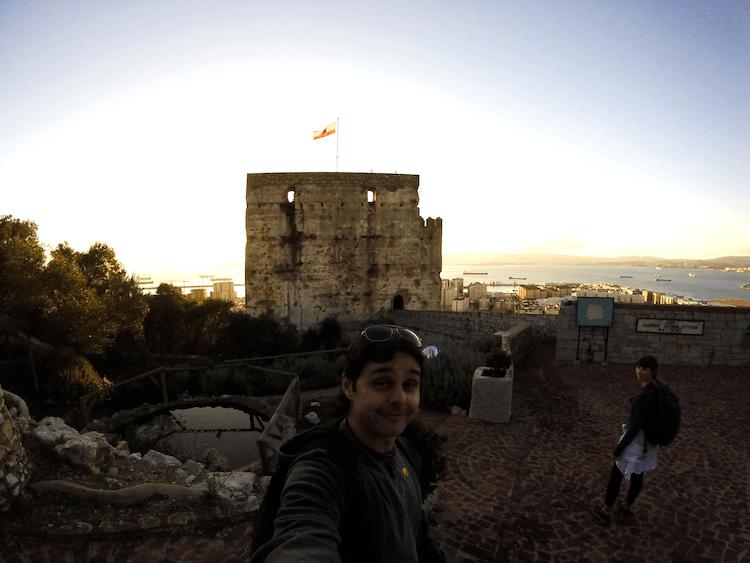 Gibraltar moorish castle rock attraction