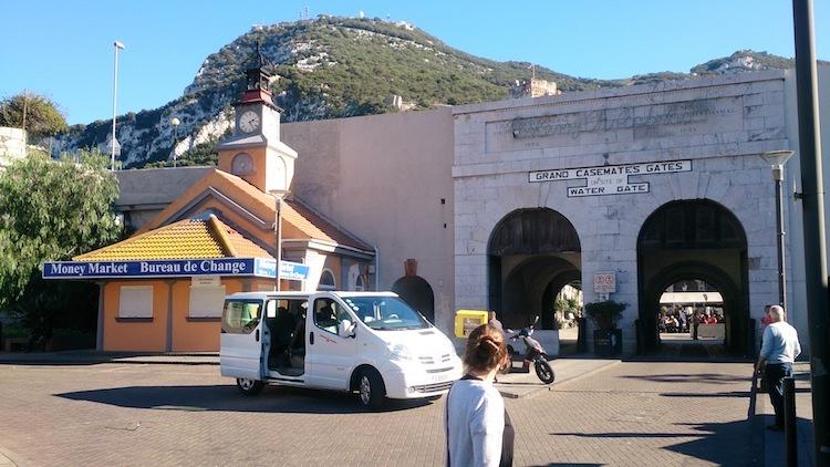 Casemates main square daylight gibraltar