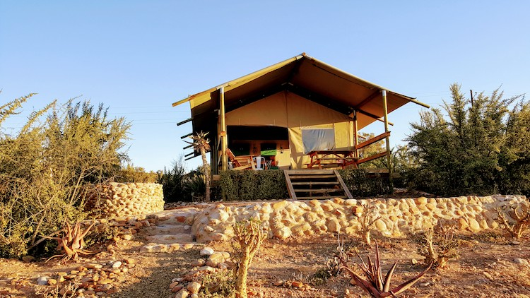 Tent hotel South Africa